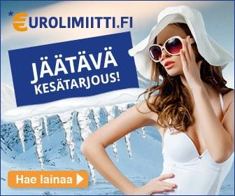 Eurolimiitti tarjoaa uusille asiakkailleen ensimmäisen 1000 € pikalainan ilman kuluja