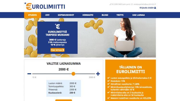 Eurolimiitti